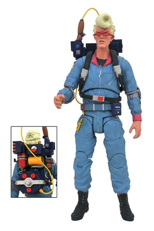 Diamond Select The Real Ghostbusters: Egon Spengler Action Figure