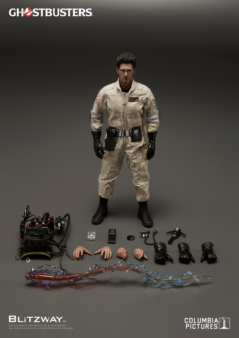 Blitzway: Ghostbusters 1984 1/6th scale Egon Spengler