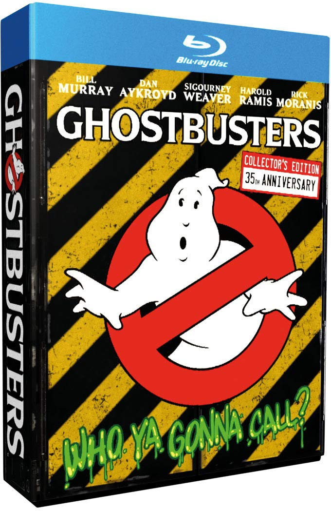 2013 and 2014 Remasters of Ghostbusters and Ghostbusters 2/Ghostbusters (movie) 35th Anniversary Edition Blu-ray with Pack-Ins (2019)