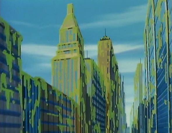 New York City Hall/Animated