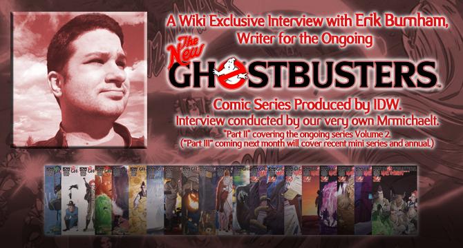 Interview with Erik Burnham Part 2