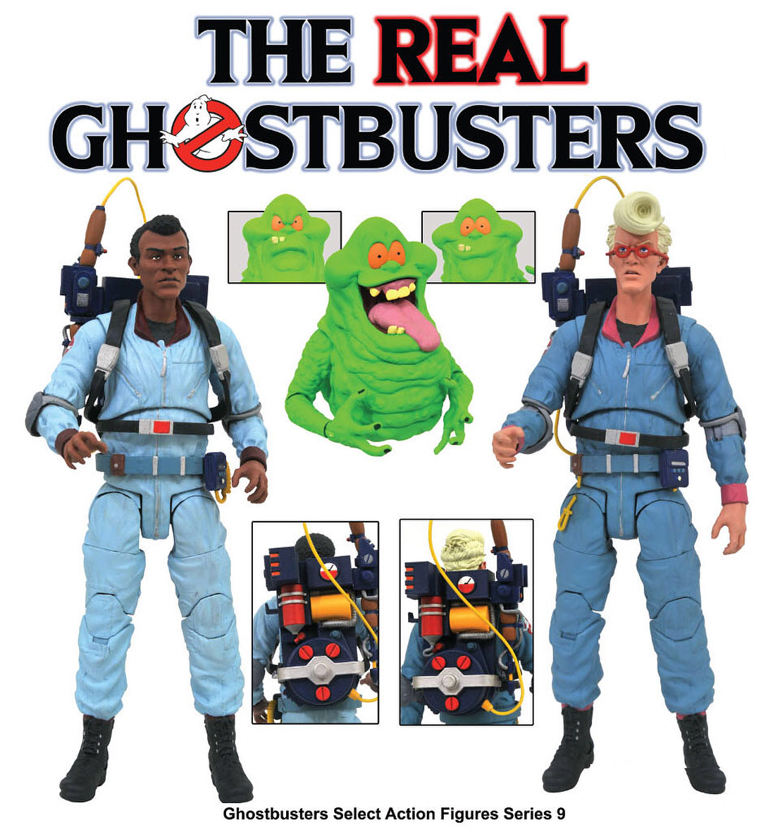 Diamond Select The Real Ghostbusters: Slimer Action Figure