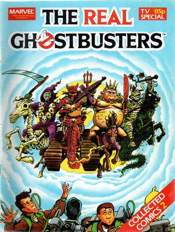 Marvel Comics Ltd- The Real Ghostbusters Collected Comics 02 TV Special