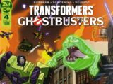 IDW Publishing Comics- Transformers/Ghostbusters: Ghosts of Cybertron 4