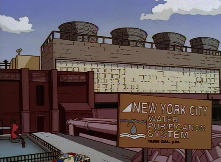 New York City Water Purification System Waystation