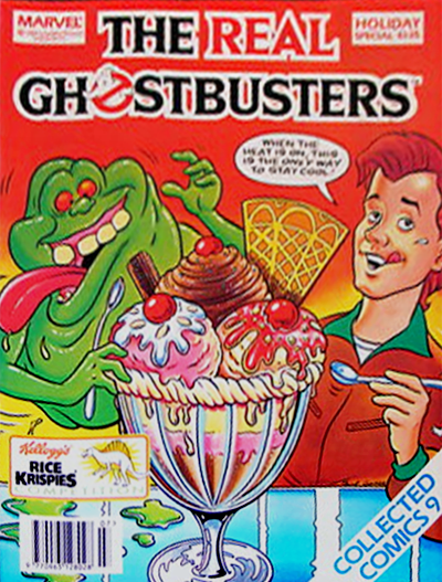 Marvel Comics Ltd- The Real Ghostbusters Collected Comics 09 Holiday Special