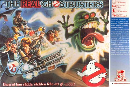 The Real Ghostbusters Board Game (Casper)