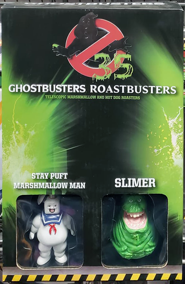 Ghostbusters Roastbusters: Telescopic Marshmallow and Hot Dog Roasters