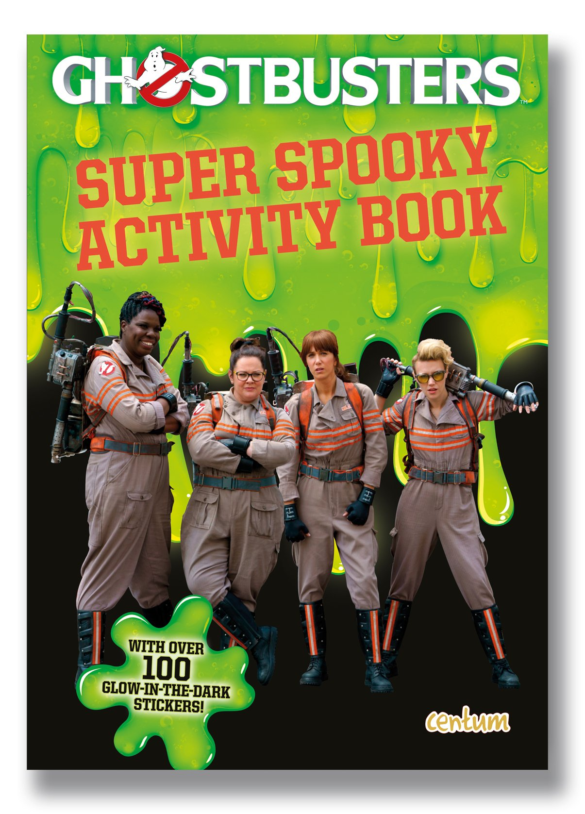 Ghostbusters Super Spooky Activity Book