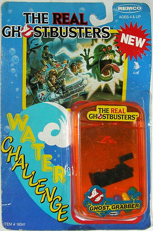 The Real Ghostbusters Water Challenge: Ghost Grabber