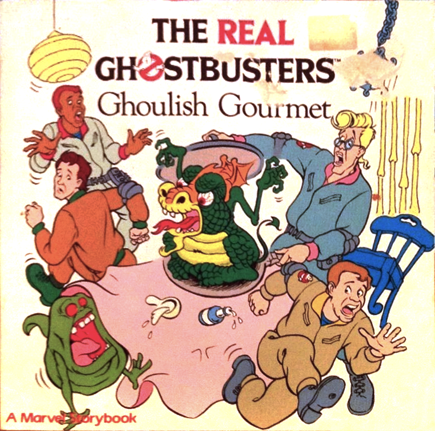 Marvel Books- The Real Ghostbusters: Ghoulish Gourmet Storybook