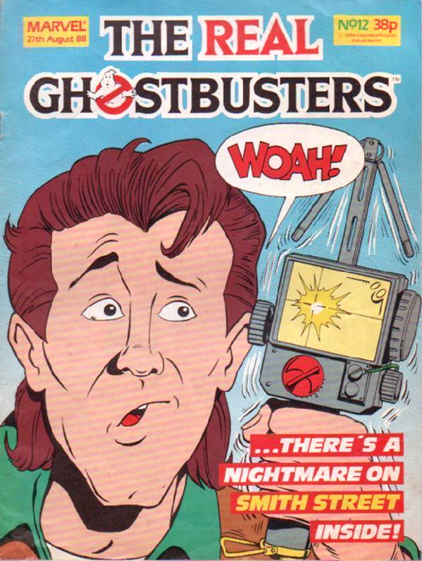 Marvel Comics Ltd- The Real Ghostbusters 012