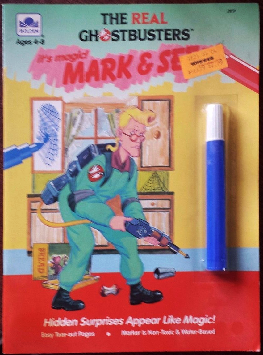 The Real Ghostbusters: It's Magic! Mark & See