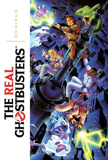 IDW Publishing Comics- Real Ghostbusters Omnibus Volume 1
