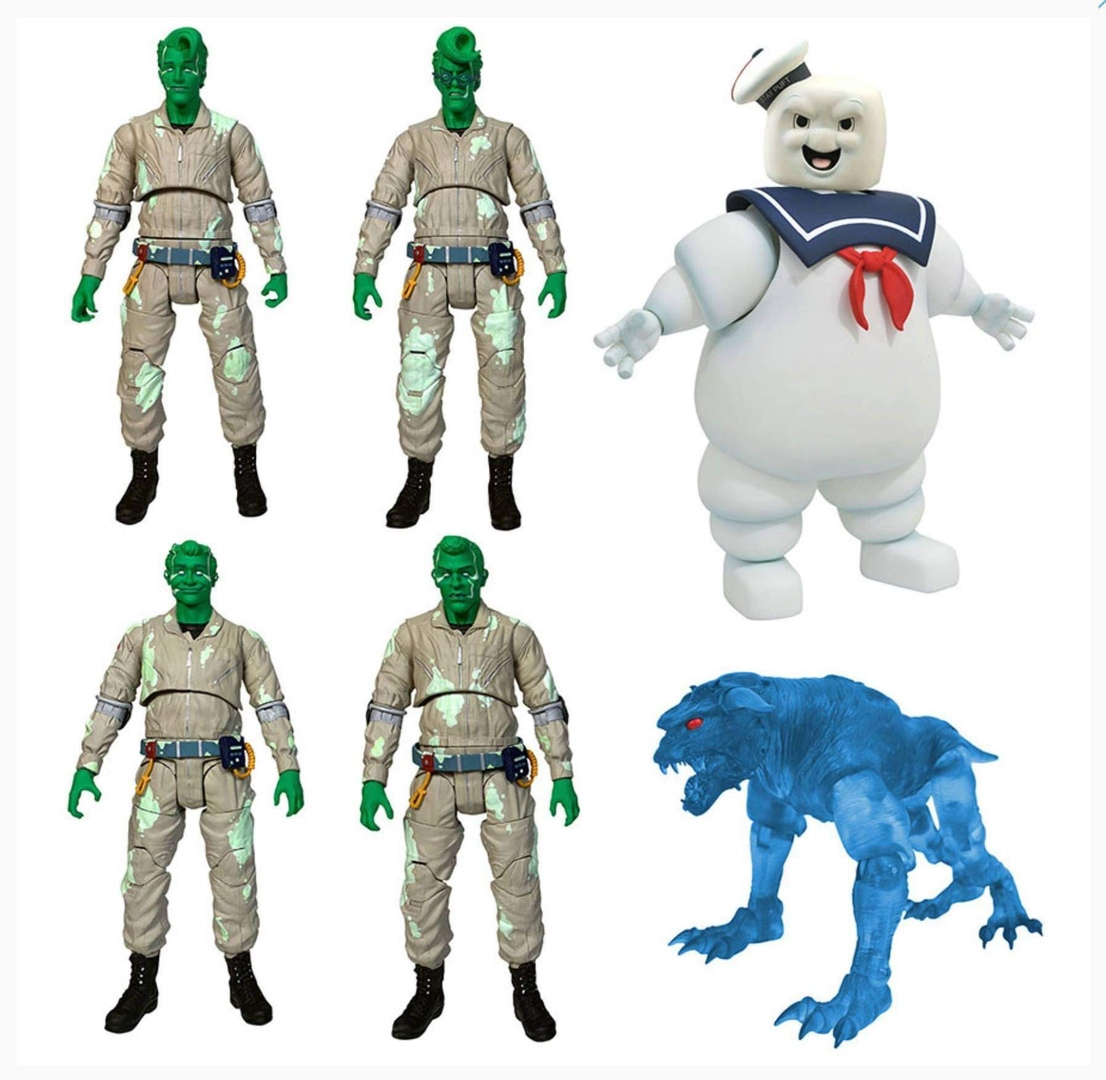 Diamond Select The Real Ghostbusters: Spectral Ghostbusters Action Figure Box Set