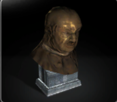 Whistling Bust of Mausch