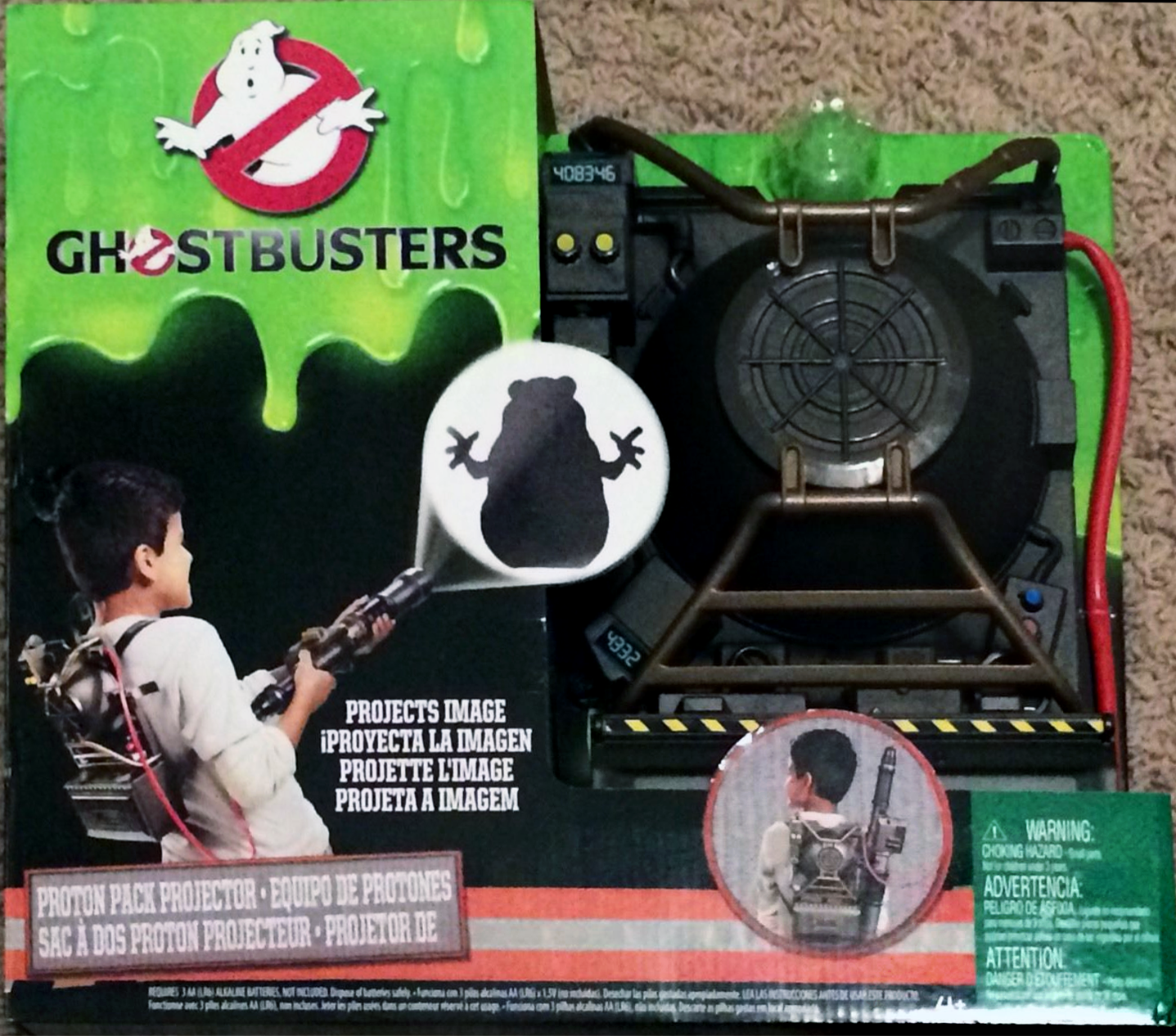 Mattel Ghostbusters Prop Toy Line