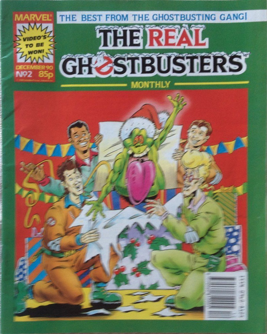 Marvel Comics Ltd- The Real Ghostbusters Monthly 2