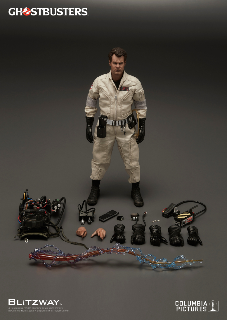 Blitzway: Ghostbusters 1984 1/6th scale Raymond Stantz