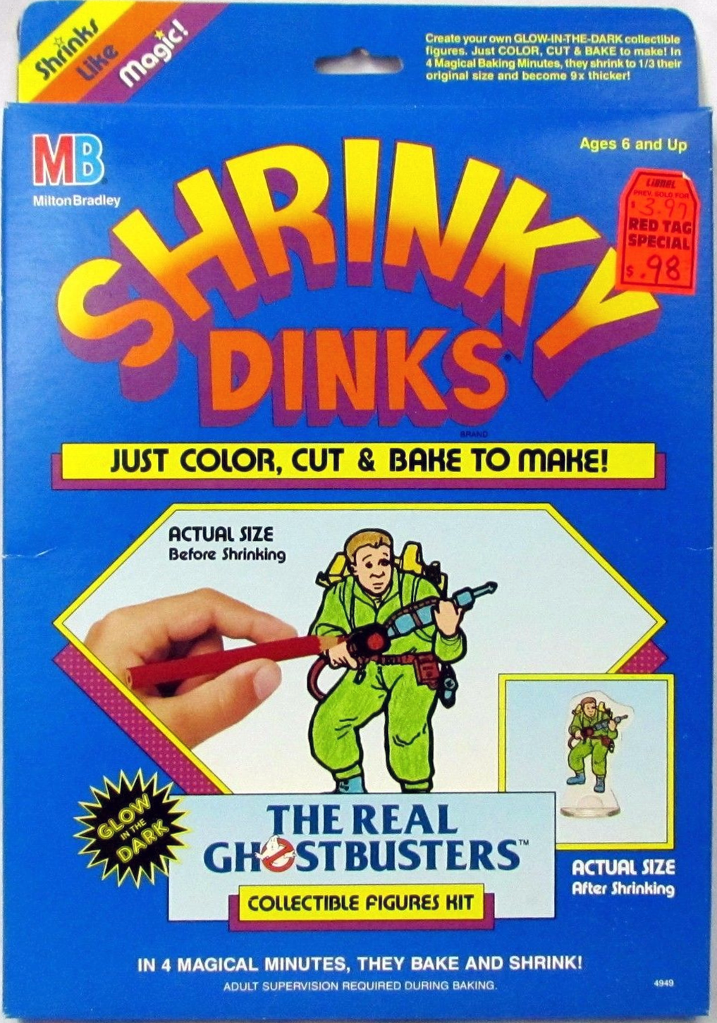 The Real Ghostbusters: Shrinky Dinks