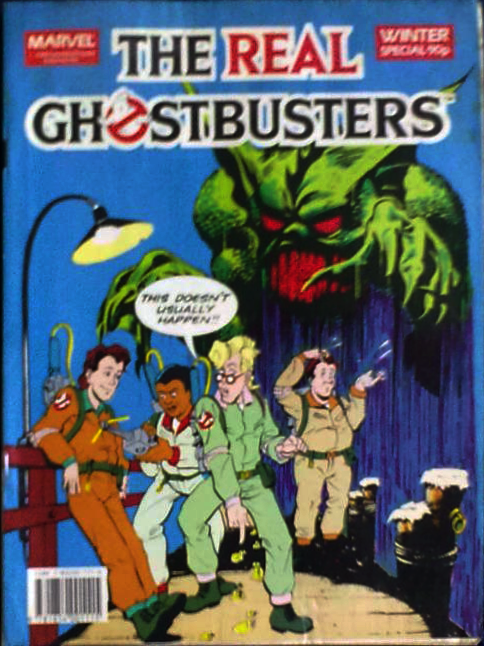 Marvel Comics Ltd- The Real Ghostbusters Winter Special
