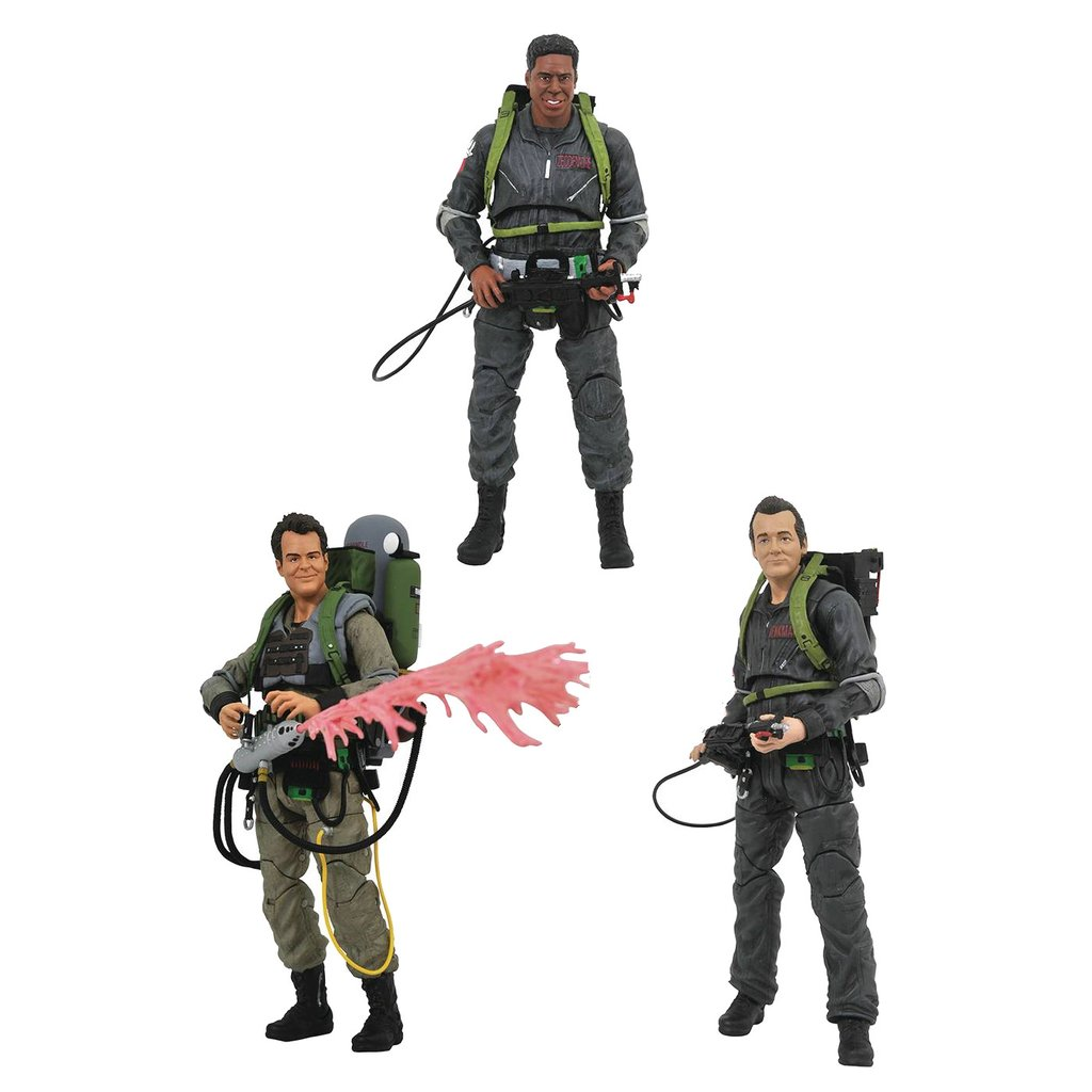 "Diamond Select Ghostbusters II: ""We're Back"" Peter Venkman Action Figure"