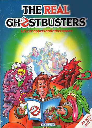 Marvel Comics Ltd- The Real Ghostbusters: Ghostnappers and other stories