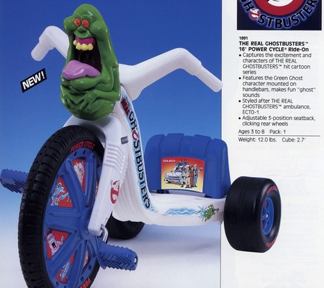 """The Real Ghostbusters: 16"""" Power Cycle"""