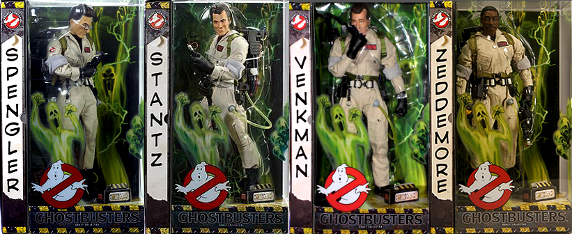 Matty Collector Ghostbusters 12 Inch Toy Line