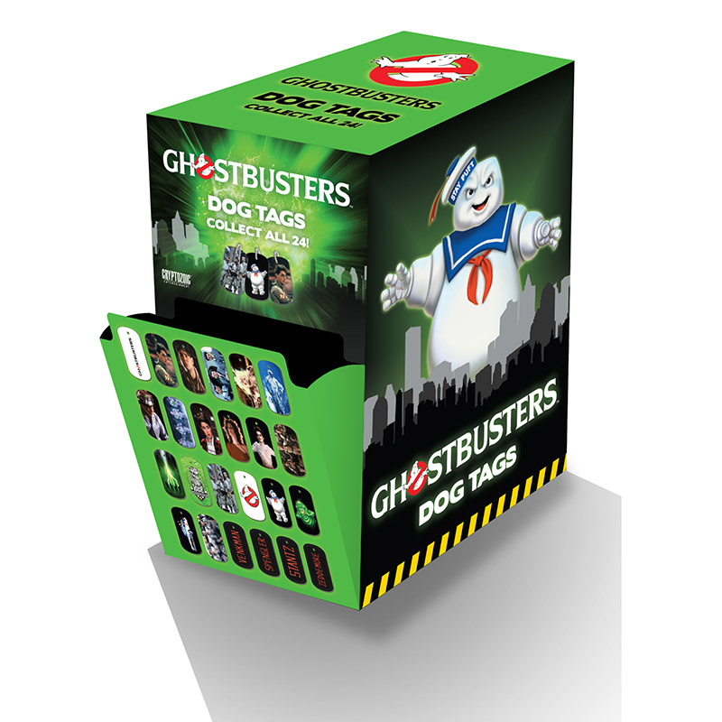 Ghostbusters: Dog Tags (Cryptozoic Entertainment)