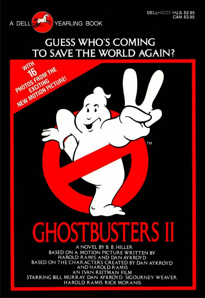 Ghostbusters II: Junior Novel