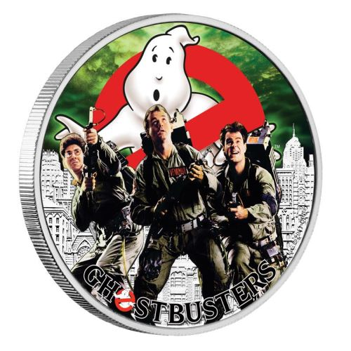The Perth Mint Ghostbusters related coin series