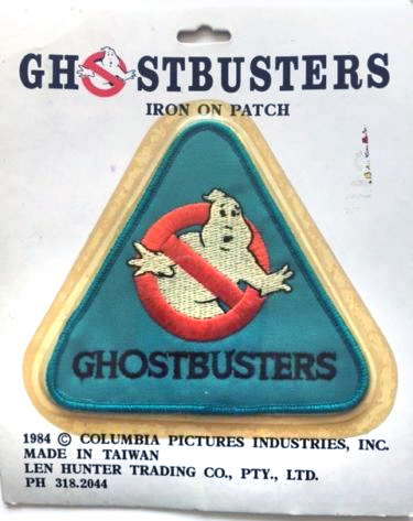 Ghostbusters: Iron On Patch (Len Hunter Trading Co.)