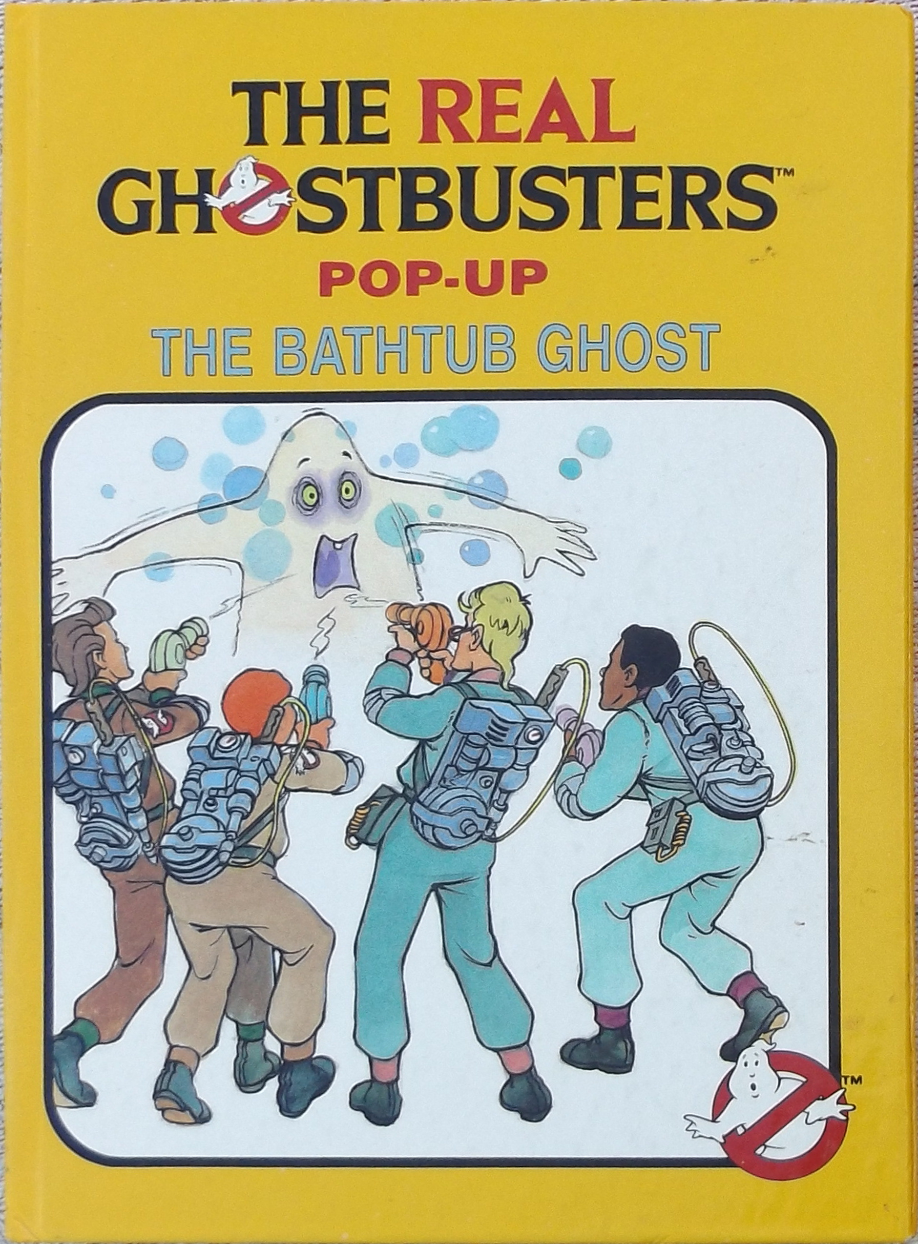 The Real Ghostbusters Pop-Up: The Bathtub Ghost