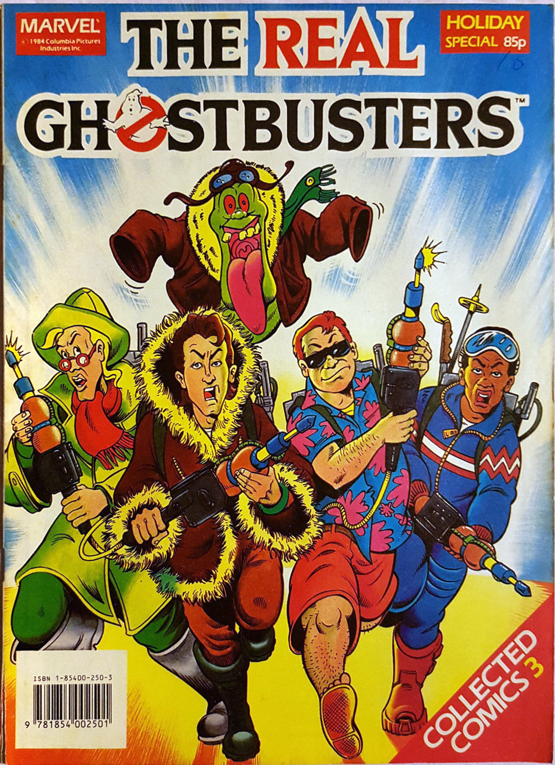 Marvel Comics Ltd- The Real Ghostbusters Collected Comics 03 Holiday Special