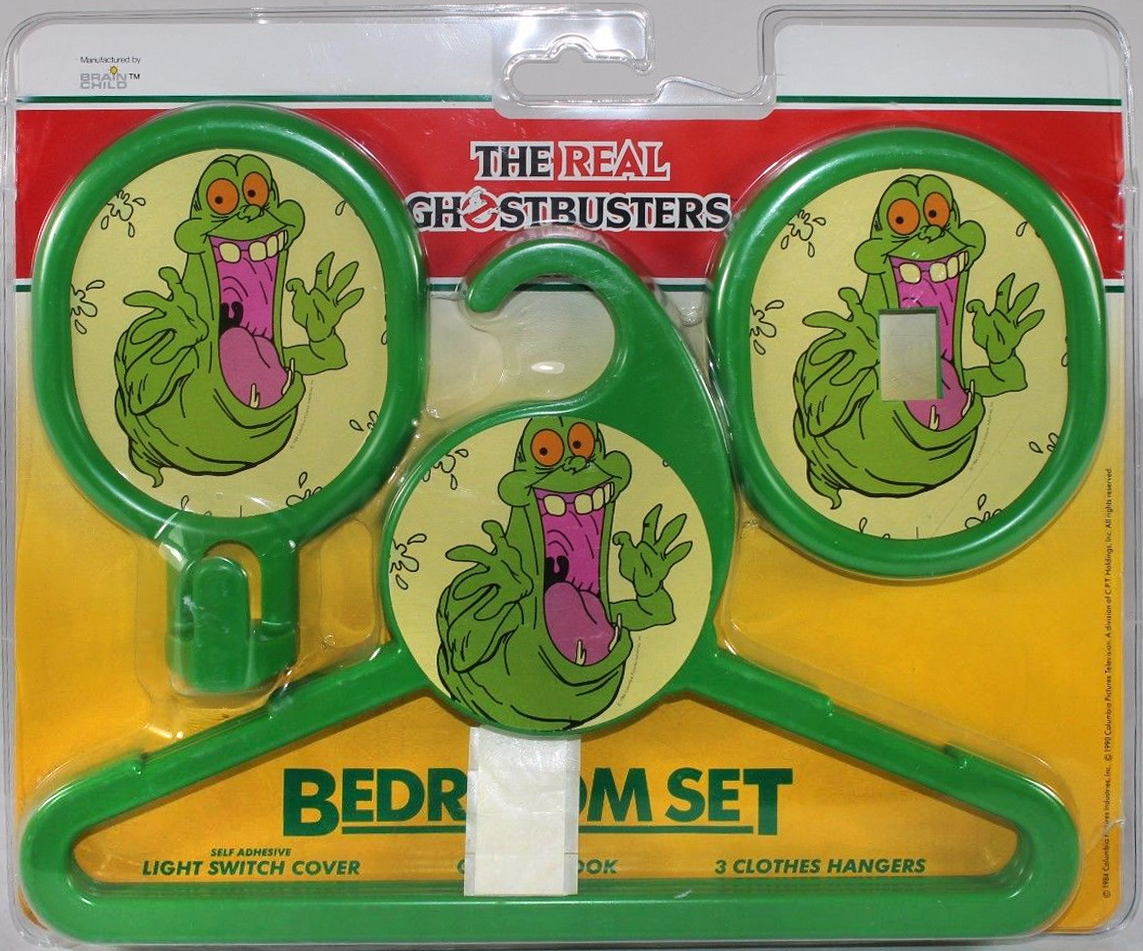 The Real Ghostbusters: Bedroom Set (Brainchild)