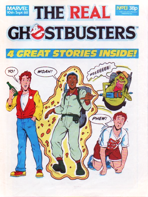 Marvel Comics Ltd- The Real Ghostbusters 013