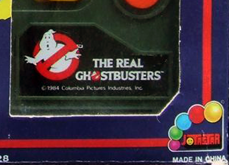 Jotastar The Real Ghostbusters related merchandise