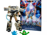 Transformers: Generations-Ghostbusters Collaborative: Ghostbusters: Afterlife Ecto-1 Ectotron Figure