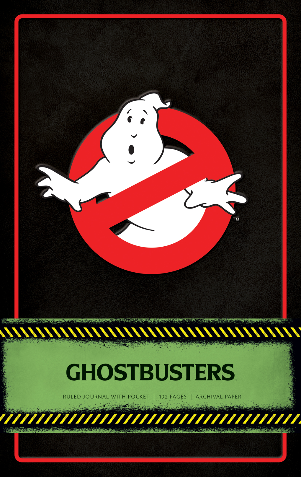 Ghostbusters: Ruled Journal With Pocket