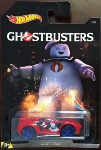 Hot Wheels Ghostbusters Toy Line