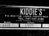Kiddie's Ghostbusters related kiddie rides