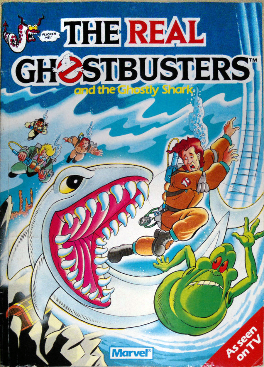 Marvel Comics Ltd- The Real Ghostbusters: and the Ghostly Shark