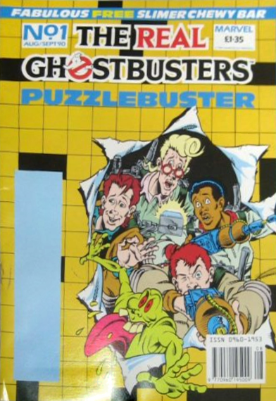 Marvel Comics Ltd- The Real Ghostbusters Puzzlebuster 1