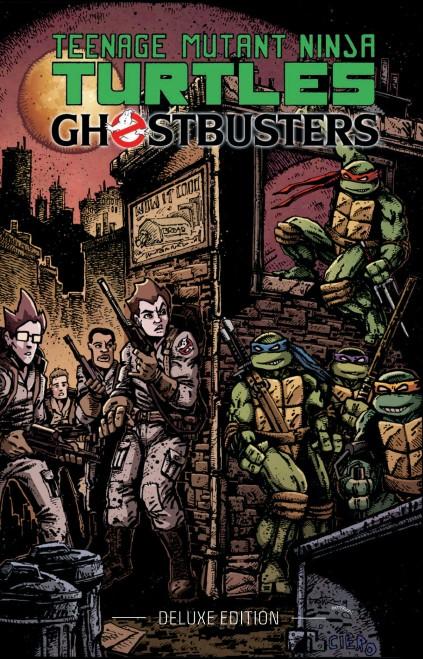 IDW Publishing Comics- Teenage Mutant Ninja Turtles Ghostbusters Deluxe Edition