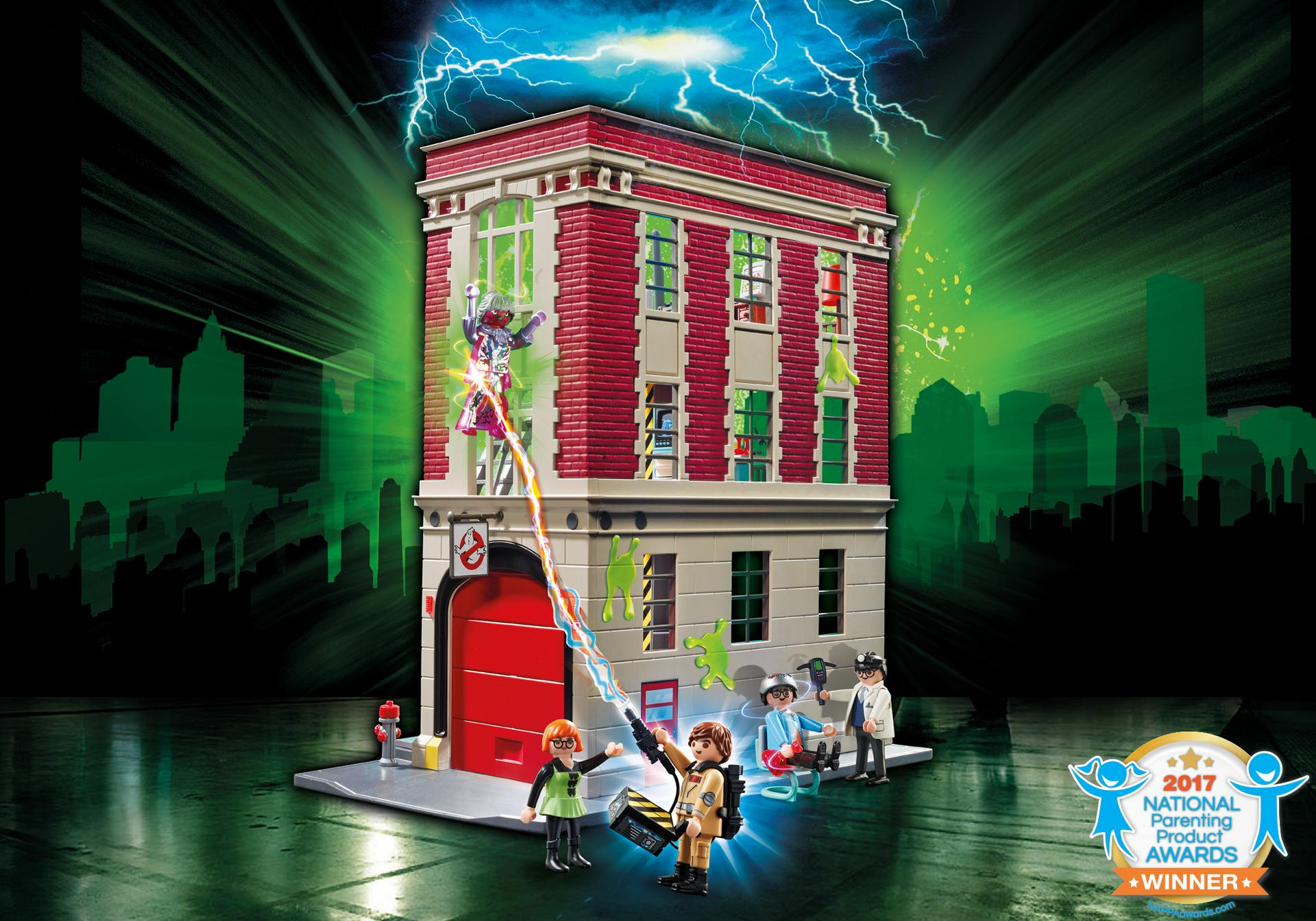Playmobil: Ghostbusters Firehouse