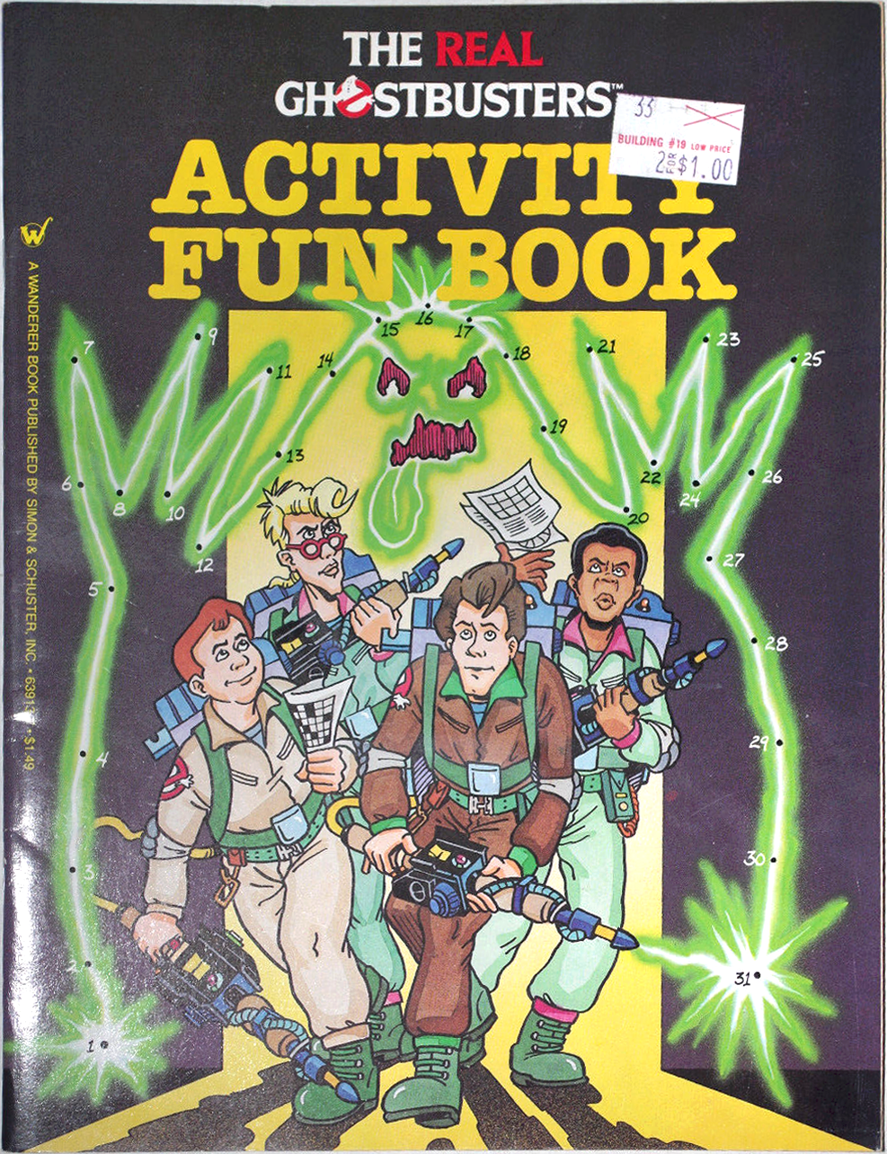 The Real Ghostbusters Activity Fun Book