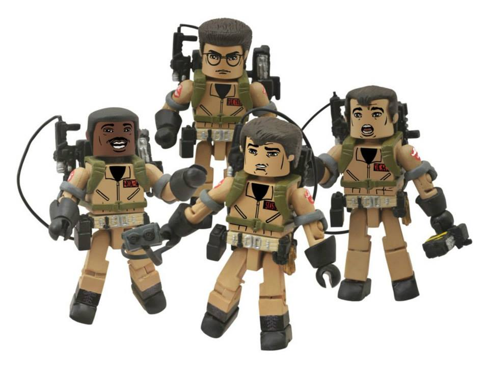 "Diamond Select Ghostbusters Minimates: ""I Love This Town"" Box Set"