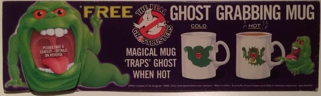The Real Ghostbusters Ghost Grabbing Mug