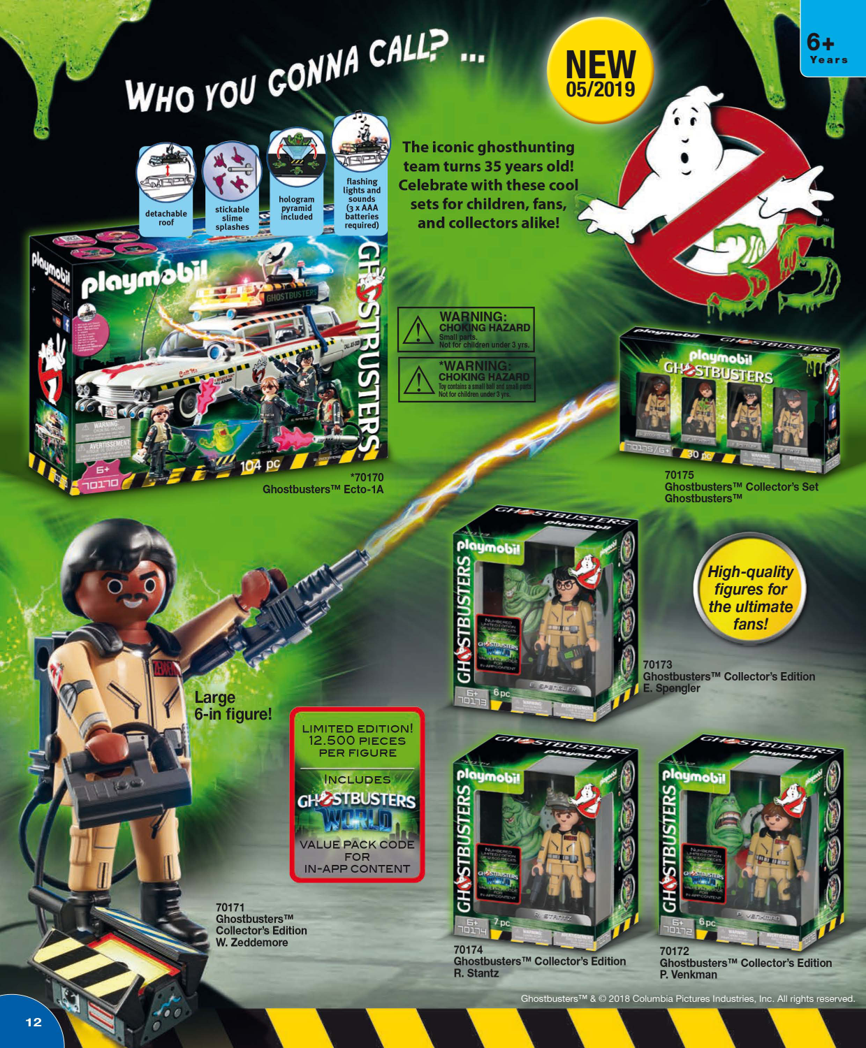 Playmobil: Ghostbusters Collector's Edition E. Spengler
